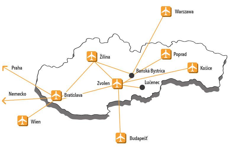 preprava osob v ramci slovenska